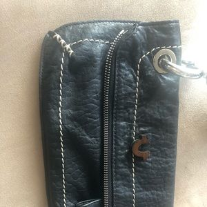 Religion clutch leather bag